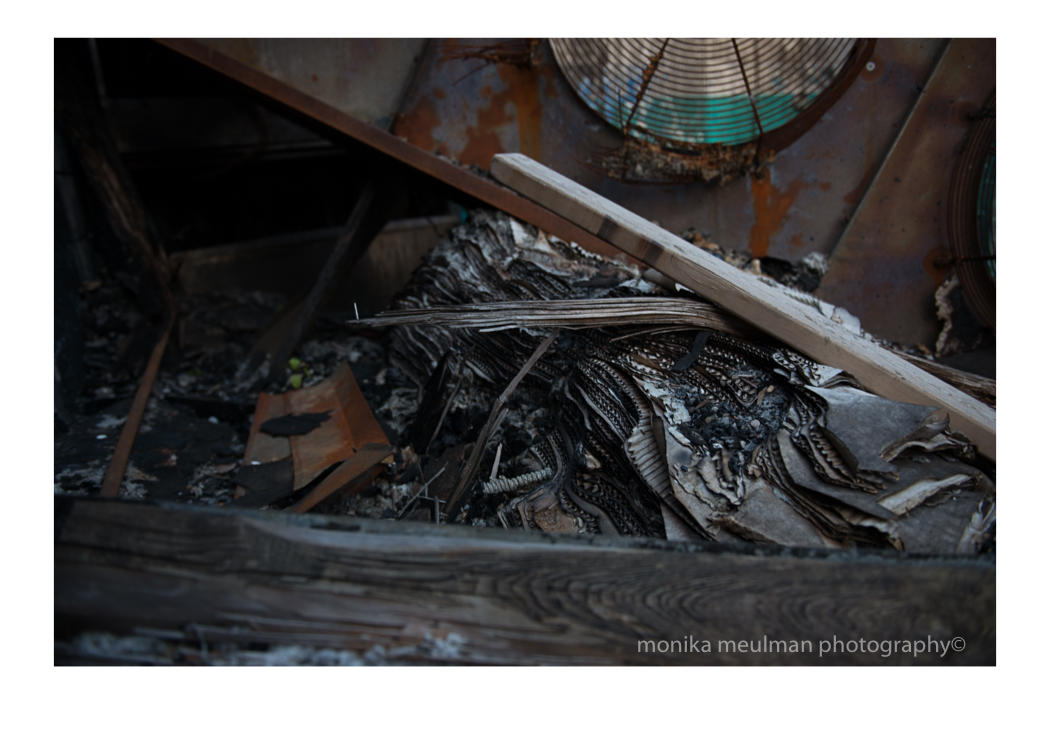 fire on birmingham corrugated debris