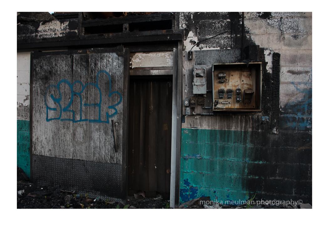 fire on birmingham sick wall space